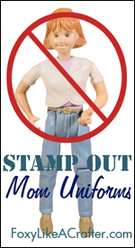 Stamp Out Mom Uniforms
